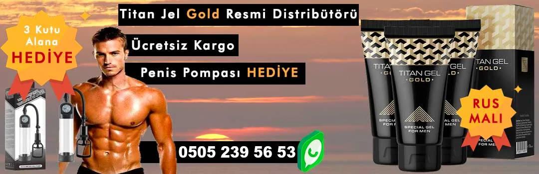 Titan Jel Gold Türkiye Resmi Distribütörü